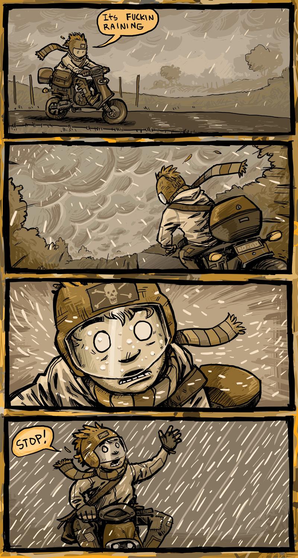 jonas vs the rain