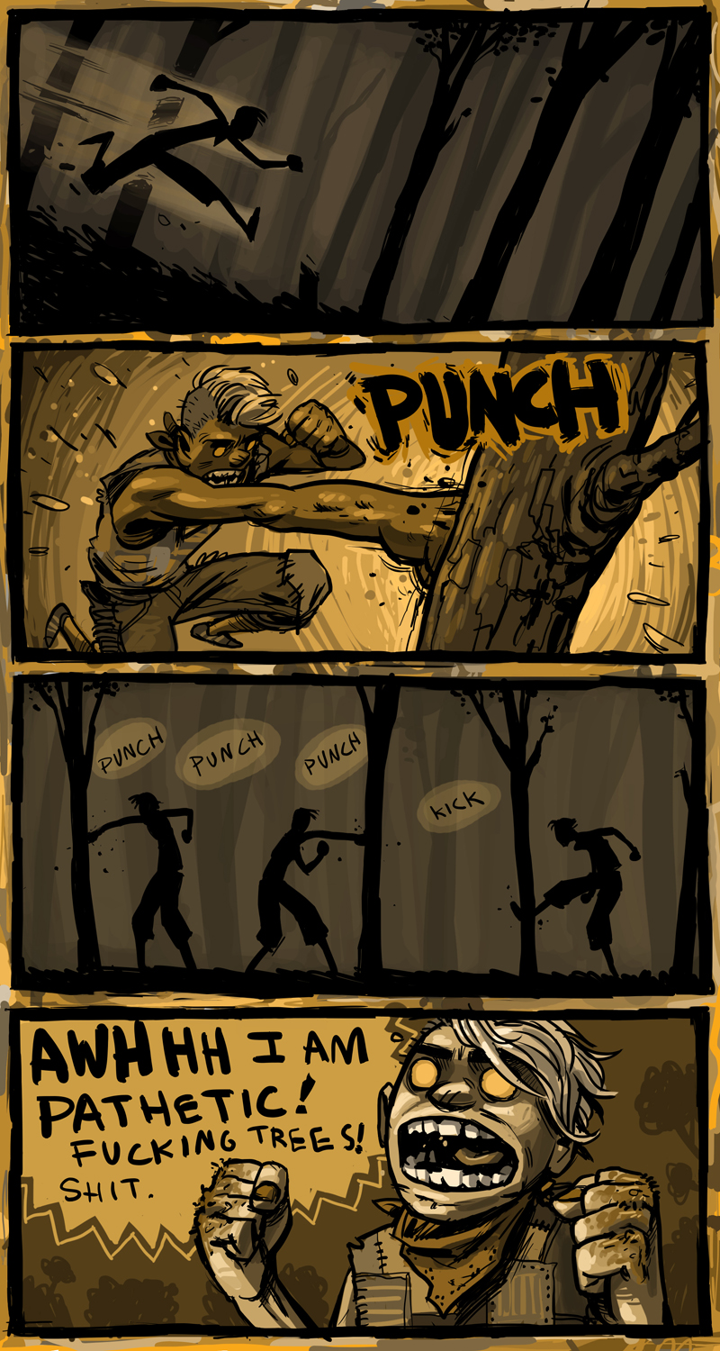 tree punchin