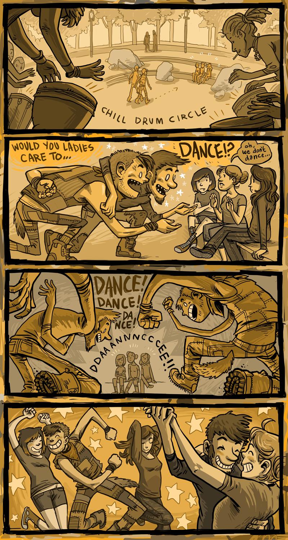 dance pressure