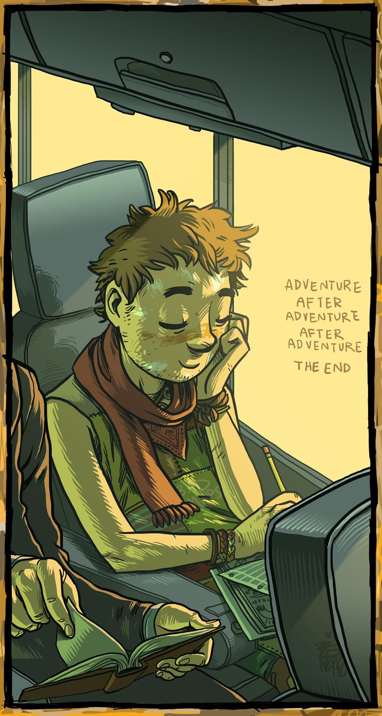 adventure after adventure